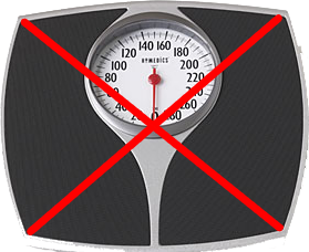 robaina fitness weight loss tip - throw out the scale